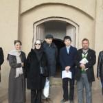 بازدیدسرکار خانم افسانه بایگان بازیگر و از ژاپن آقایان پروفسور موری موتو و دکترمیزوکامی دیروز شنبه 1394/09/28 از آرامگاه حمویه بازدید کردند.